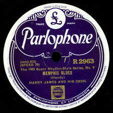HARRY JAMES & HIS ORCHESTRA  Memphis Blues / Sleepy Time Gal       78rpm    X171