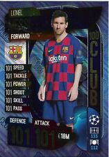 MATCH ATTAX 2019/20 LIONEL MESSI 100 101 HUNDRED CLUB NO 331