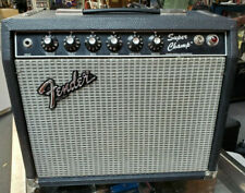"FENDER SUPER CHAMP TUBE GUITAR AMP AMPLIFIER 1983-84 S# F320122 10"" EV SPEAKER"