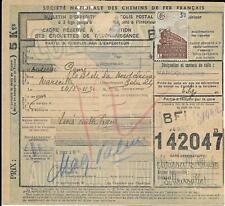 3 x  bulletins d'expéd. de Colis postaux avec timbre N° 208 - (K)    - 15-11-20