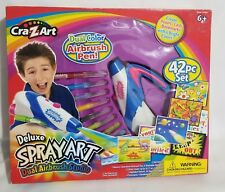 Cra-Z-Art Deluxe Spray Art Dual Airbush Studio