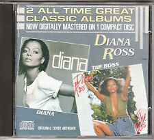 DIANA ROSS - Diana / The boss - CD 1986 MADE IN JAPAN VG+ CONDITION (L)