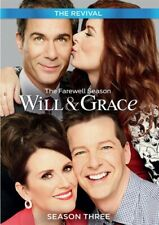 WILL + GRACE THE REVIVAL TV SERIES COMPLETE SEASON THREE 3 New Sealed DVD