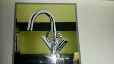 Giagni LL5-PC Polished Chrome Goosneck Lavatory Faucet NEW High Arch