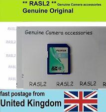 Genuine FujiFilm SD-HC Memory Card For FinePix Digital Camera
