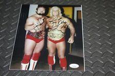 WWF/WWE/WCW RIC FLAIR & ARN ANDERSON DUAL SIGNED 8X10 PHOTO FOUR HORSEMEN JSA