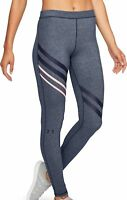 Under Armour Favourite Womens Long Running Training Tights - Grey