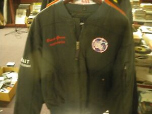 Vintage NHRA Authentic Crew Jacket. Real deal. Size L