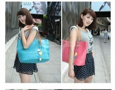 Zip Patternless Totes with Mobile Phone Pocket Handbags