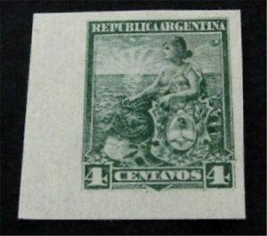 nystamps Argentina Stamp Mint Proof   G6y014