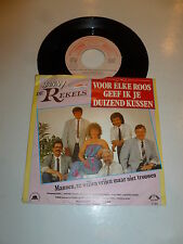 """HANNIE ED DE REKELS - Voor Elke - 1989 Dutch 2-track 7"""" Juke Box Vinyl Single"""