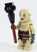 LEGO HOBBIT DOL GULDUR ORC URUK AZOG MINIFIGURE 79014 - LOTR (CLOSED MOUTH)