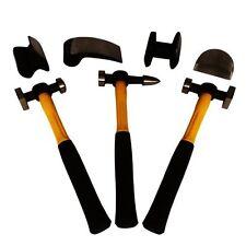 Auto Body Dent Repair Kit for Fiberglass Body Work Fender Repair Tools Car (7pc)