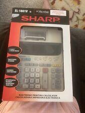 Sharp El-1801P Iii 12 Digit 2 Color Printing Calculator