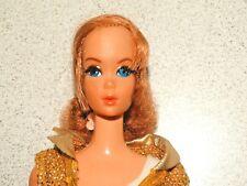 Barbie:  VINTAGE Redhead NAPE CURL TALKING BARBIE Doll w/Centered Eyes!