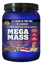 WEIDER MEGA MASS 4000 5.9 LBS - COD FREE SHIPPING