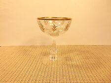 """Vintage Tiffin Crystal Chalet Patten Stem 17594 Champagne Sherbet Goblet 5 1/8"""""""