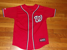 MAJESTIC WASHINGTON NATIONALS BRYCE HARPER BASEBALL JERSEY BOYS MEDIUM 10-12 EXC