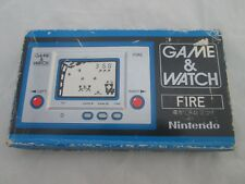Nintendo Game & Watch Pocketsize with original box FIRE FR-27 1980 and MINT