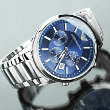 Emporio Armani AR 2448 Blue Dial Chronograph Wrist Watch for Men extra