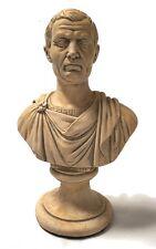 Julius Caesar Republic Bust Roman Emperor Statue 10.5H 4977