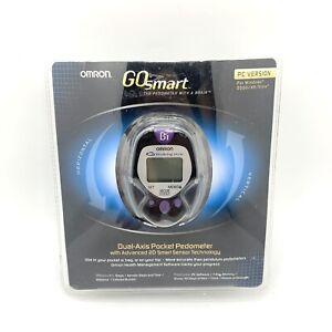 Omron Go Smart Dual-Axis Pocket Pedometer PC Version 7 Day Memory EUC