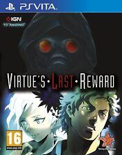 Virtue's Last Reward - PS Vita PSVita Game   BRAND NEW & SEALED