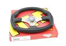 MOMO Steering Wheel Eagle Black Leather 350mm Genuine Product EAG35BK0S