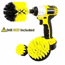 Drill Powered Scrub Brush Scrubber for cleaning  Bathroom,Kitchen,Sink,Tiles,Rim