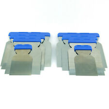 8er Set Japanspachtel Flächenspachtel Stahltahlblatt Säurefest flexibel