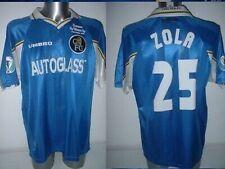 Chelsea Zola ECWC Umbro Adult XXL Shirt Vintage Jersey Football Soccer Trikot 98