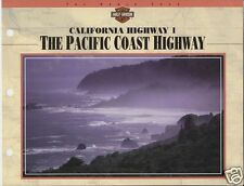 THE PACIFIC COAST HIGHWAY California Harley-Davidson Experience 8x11 PHOTO SHEET