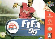 ✅ FIFA 99 Nintendo 64 N64 Retro Soccer Video Game Cart Super Fun Rare Kids ⚽️
