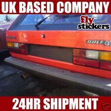 Mk1 Golf Rear Reg Plate Surround Decal, *NEW* Sticker