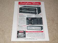 Soundcraftsmen Sp4002 Pre / Eq Adaptador, 1979 , 1 Pg ,Características,Prendas