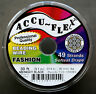 30' .014 Black ACCUFLEX 49 Strand Beading Wire ACCU-FLEX