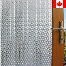 """Privacy White Frosted Window Door Film Frost Etched Glass Sticker Back, 35""""x79"""""""