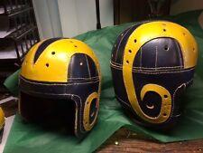 1940  LA Rams  Historic  Leather Football Helmet  full size