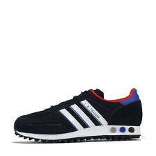 adidas Originals LA Trainer Men's Trainers Shoes Black UK 8