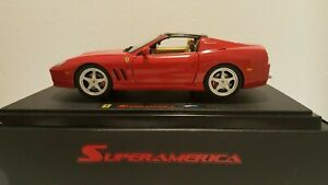 "ELITE 1/18 FERRARI 575 SUPERAMERICA Red ""Nuova in Box Originale"""