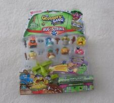 The Grossery Gang Bug Strike Gift Bundle Pack of 10 Figure Play Set 2 Hidden New