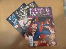 Fear Itself : Spider - Man 1 - 3 . Lot Complet . Vermin App . Marvel 2011 . VF