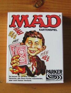 MAD Kartenspiel *Top Zustand* Parker