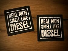 2x Männer DIESEL Aufkleber Umweltzone Plakette Pickup V8 Truck USA Oldtimer #149