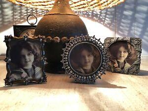 vintage style photo frames   circle  D10.5cm  square 10cm  rectangle  H10cm W8cm
