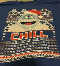 Rudolph The Red Nosed Reindeer Abominable Snowman Chill Tshirt Size Medium