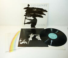 """FAD GADGET """"Under The Flag"""" NM german MUTE LP + press sheet ELECTRO SYNTH 80s"""