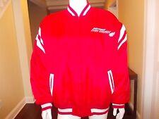 Vintage MIRAGE 80's Detroit Red Wings NYLON Jacket Coat Hockey NHL Size XXL