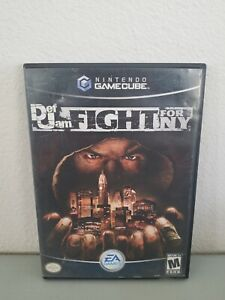Def Jam: Fight For NY (Nintendo GameCube, 2004) Black Label NTSC-U/C Complete