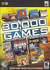 Viva Media 30,000 Games Video Game Windows PC Computer Chess Slots Puzzles Poker